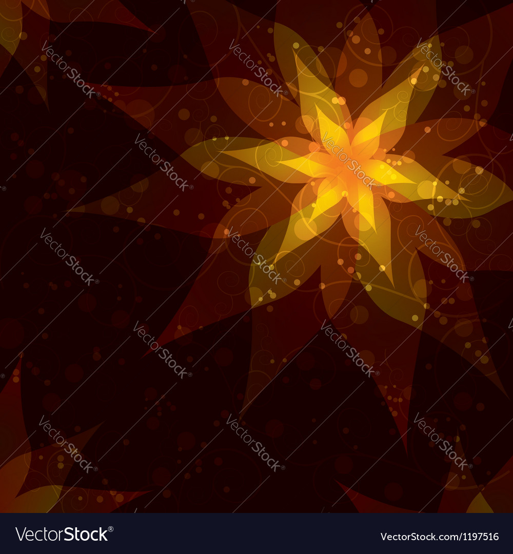 Bright background with flower Invitation or vector image