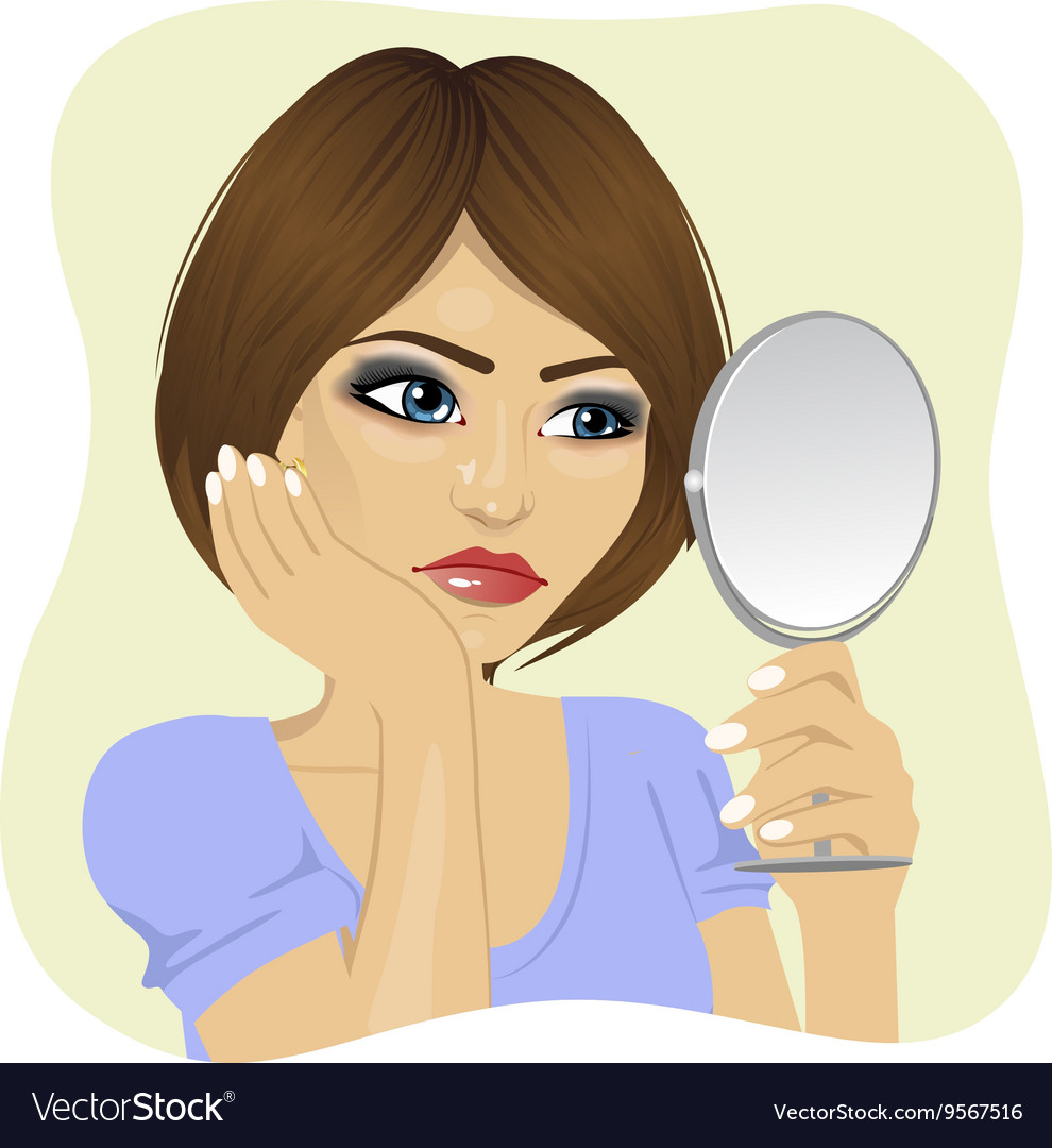 Herself Girl Mirror Vector Images (55)
