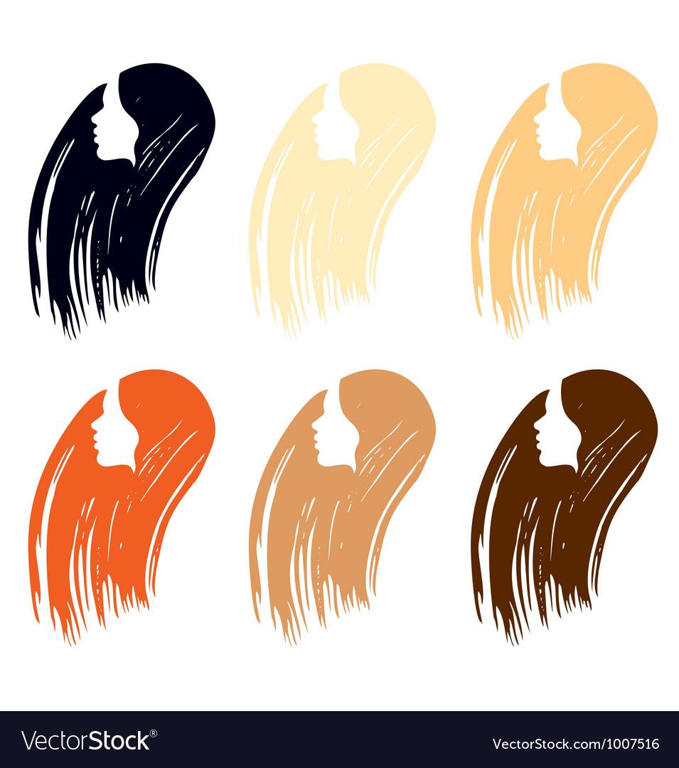 Hair colour palette