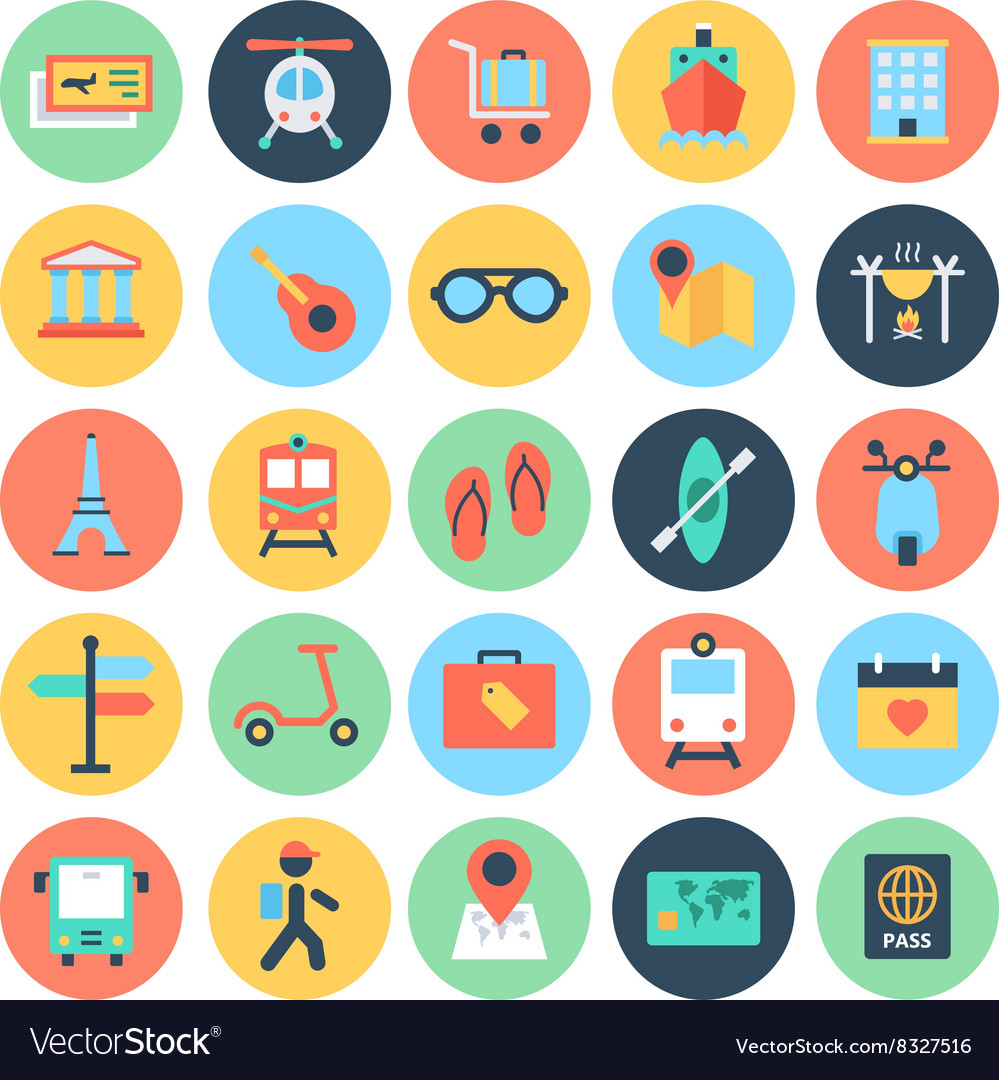 Travel Icons 2