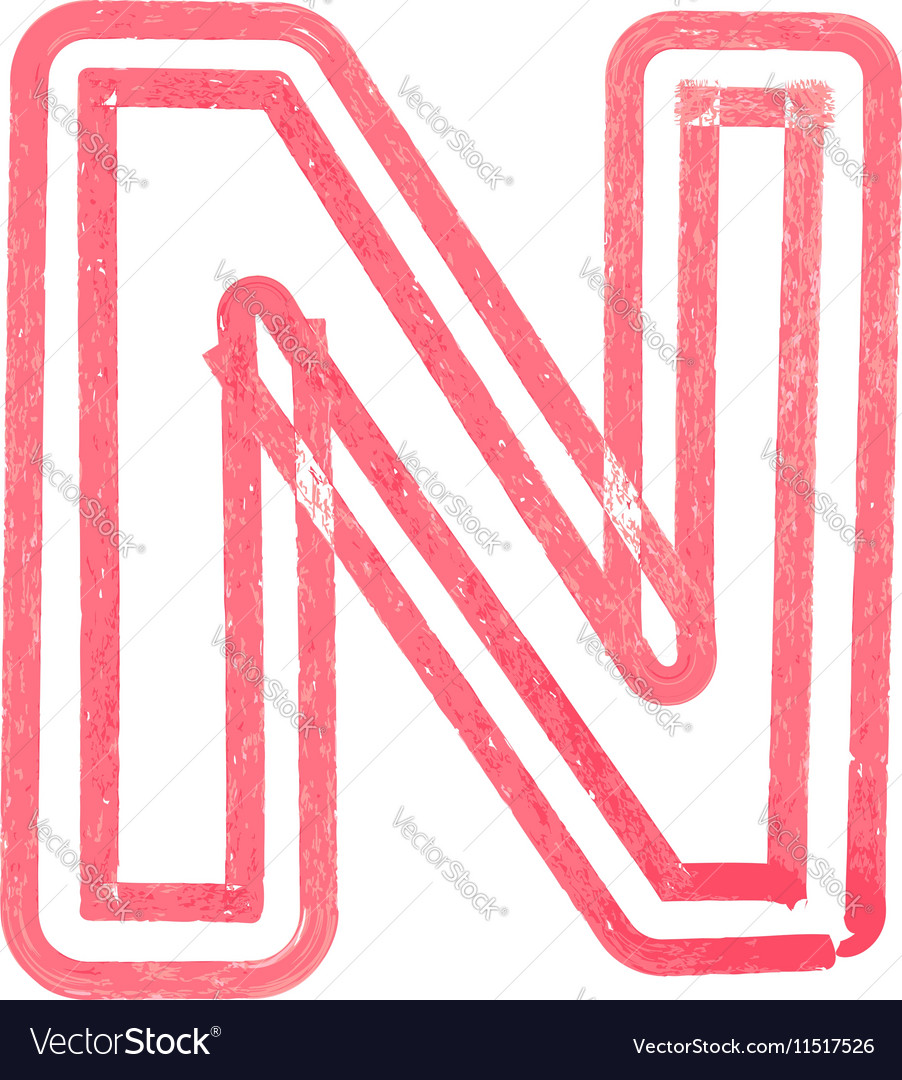 Letter, N & Pencil Vector Images (42)