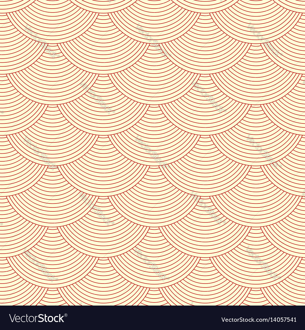 Linear scales seamless pattern vector image