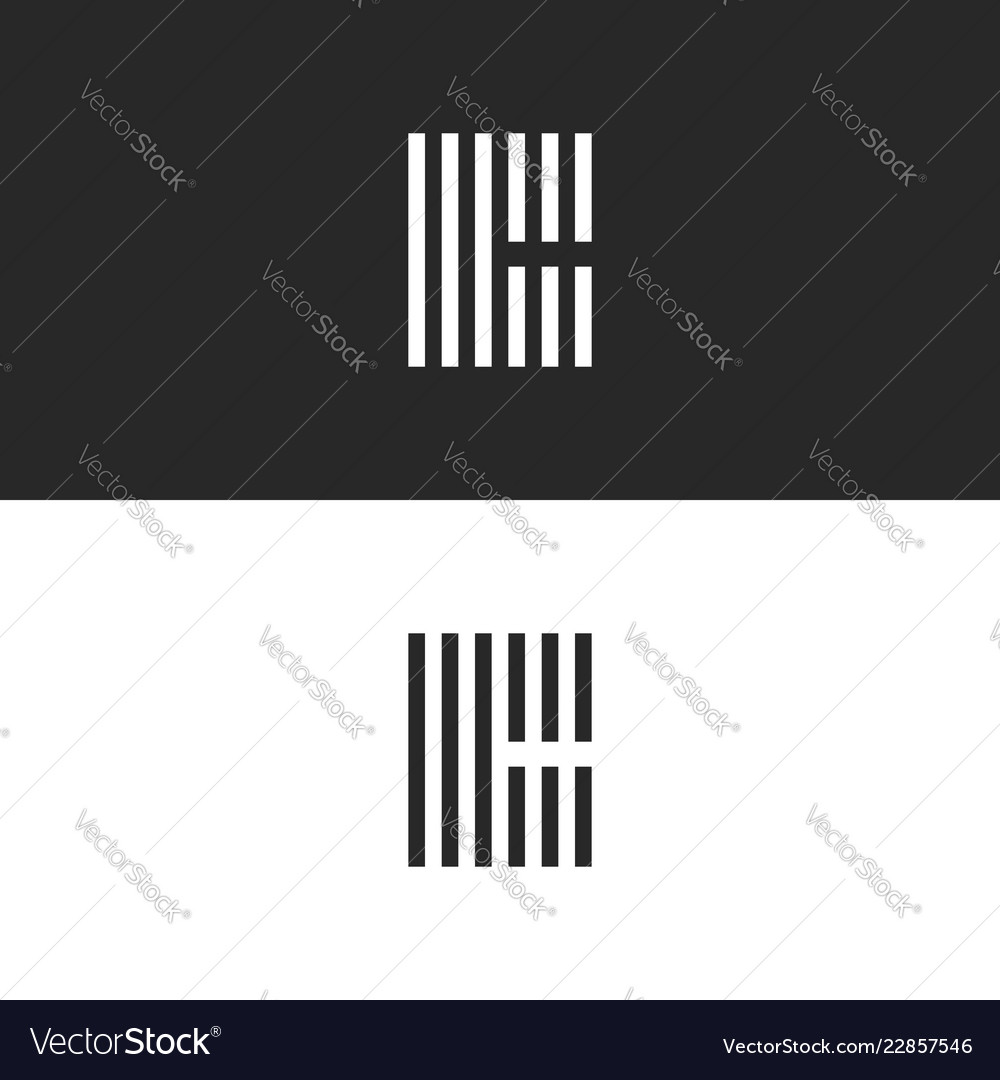 Initial hipster letter c logo monogram black and