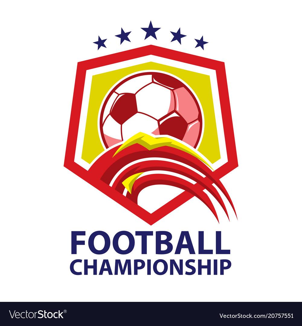 Football championship logo