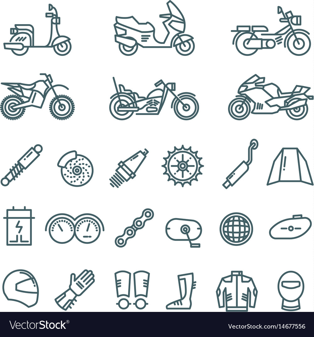 Motorcycle Auto Parts And Motorbike Accessories