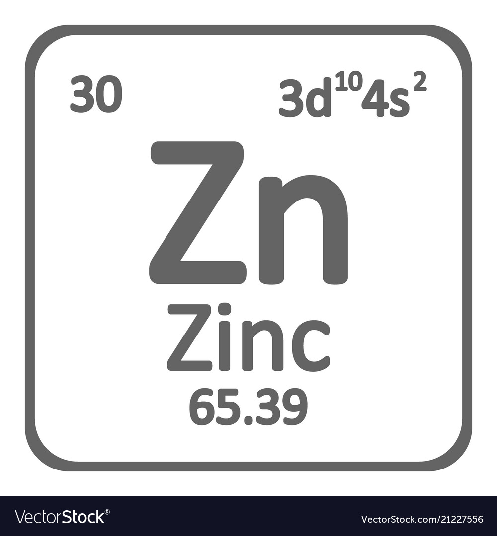 Periodic table element zinc icon royalty free vector image periodic table element zinc icon vector image urtaz Gallery