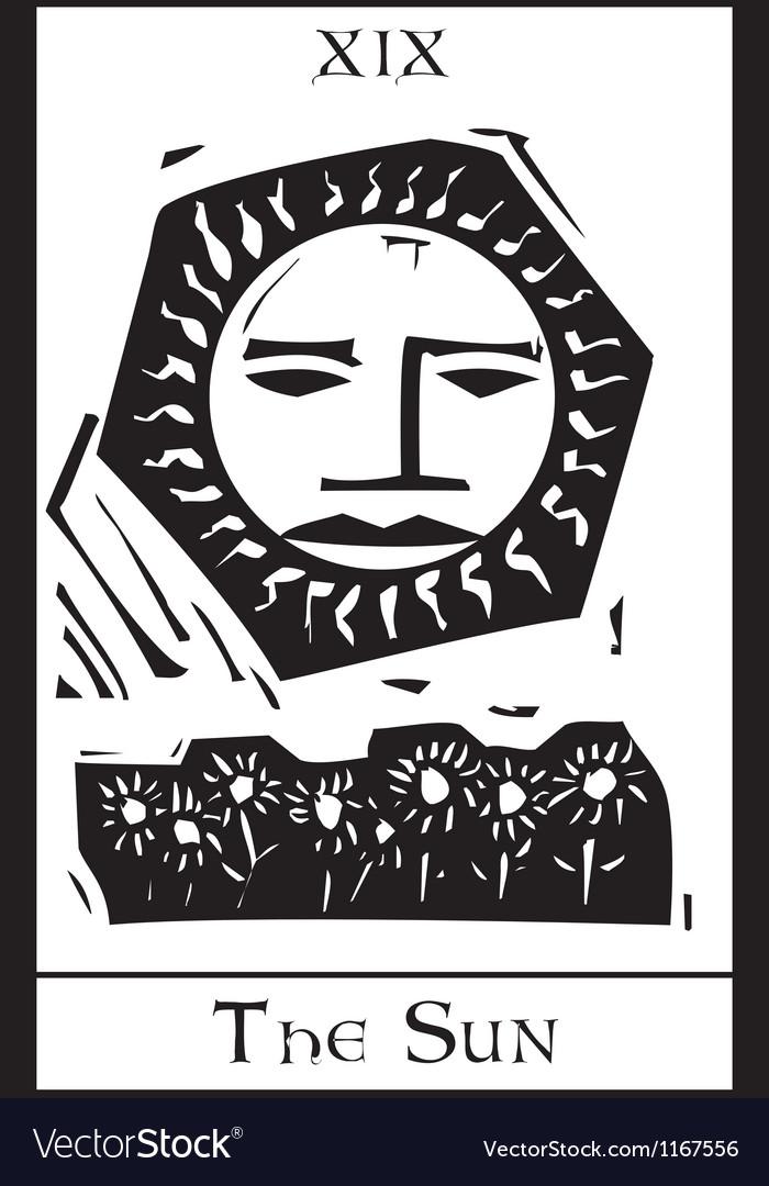 Sun Tarot Card