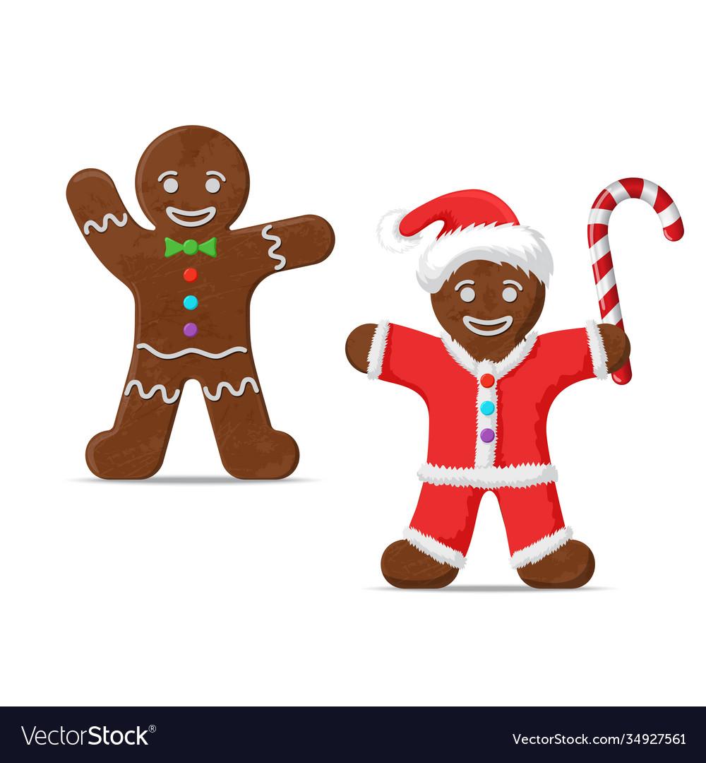 Gingerbread man set two