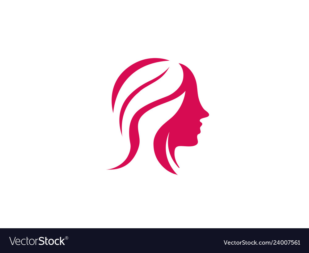 woman beauy and makeup for logo design