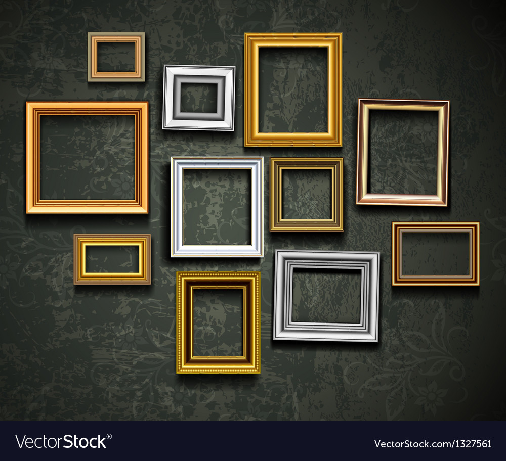 Photo picture frames vintage