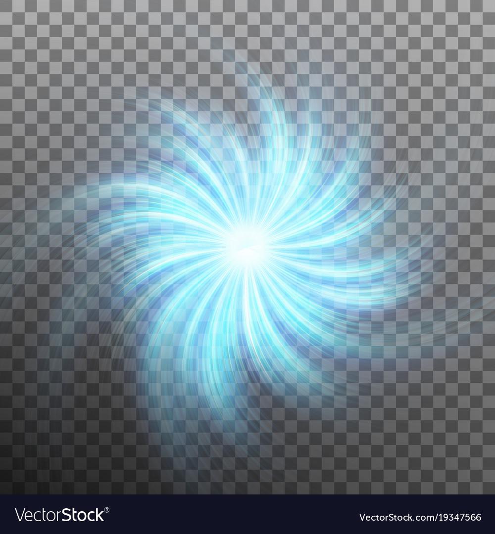 Lightning vortex effect background with shiny