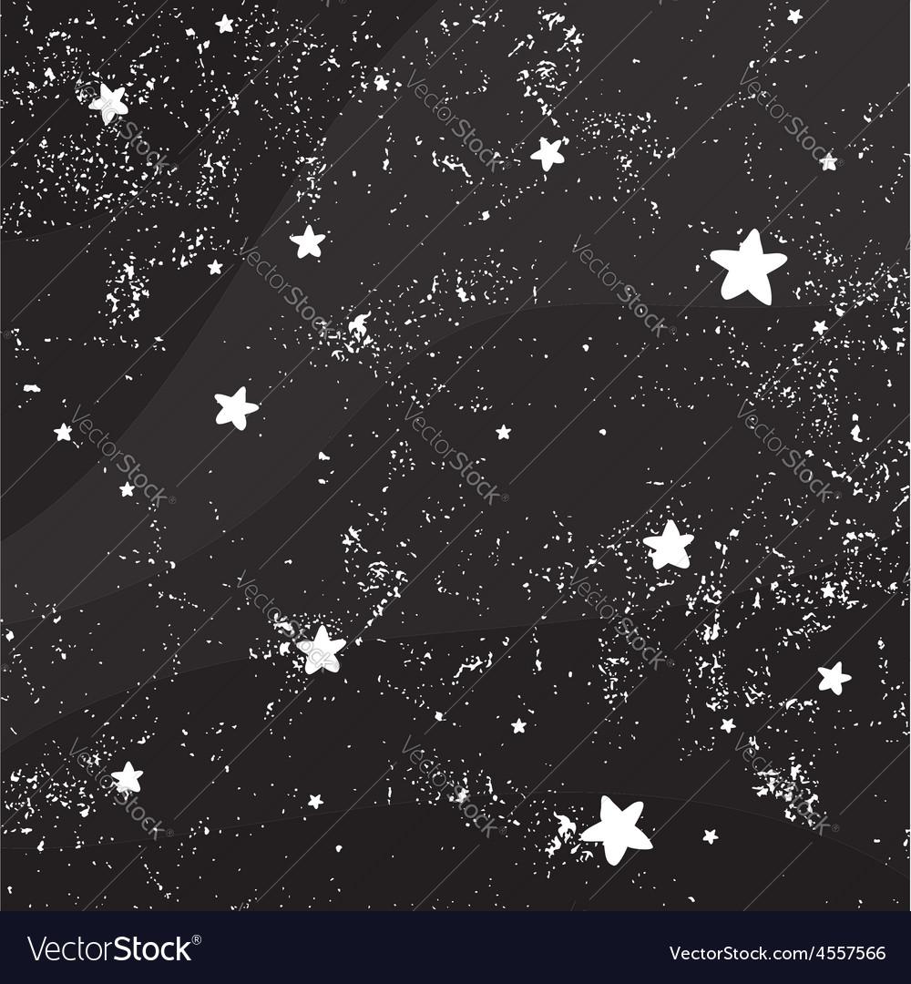 Night Sky Full Stars Royalty Free Vector Image