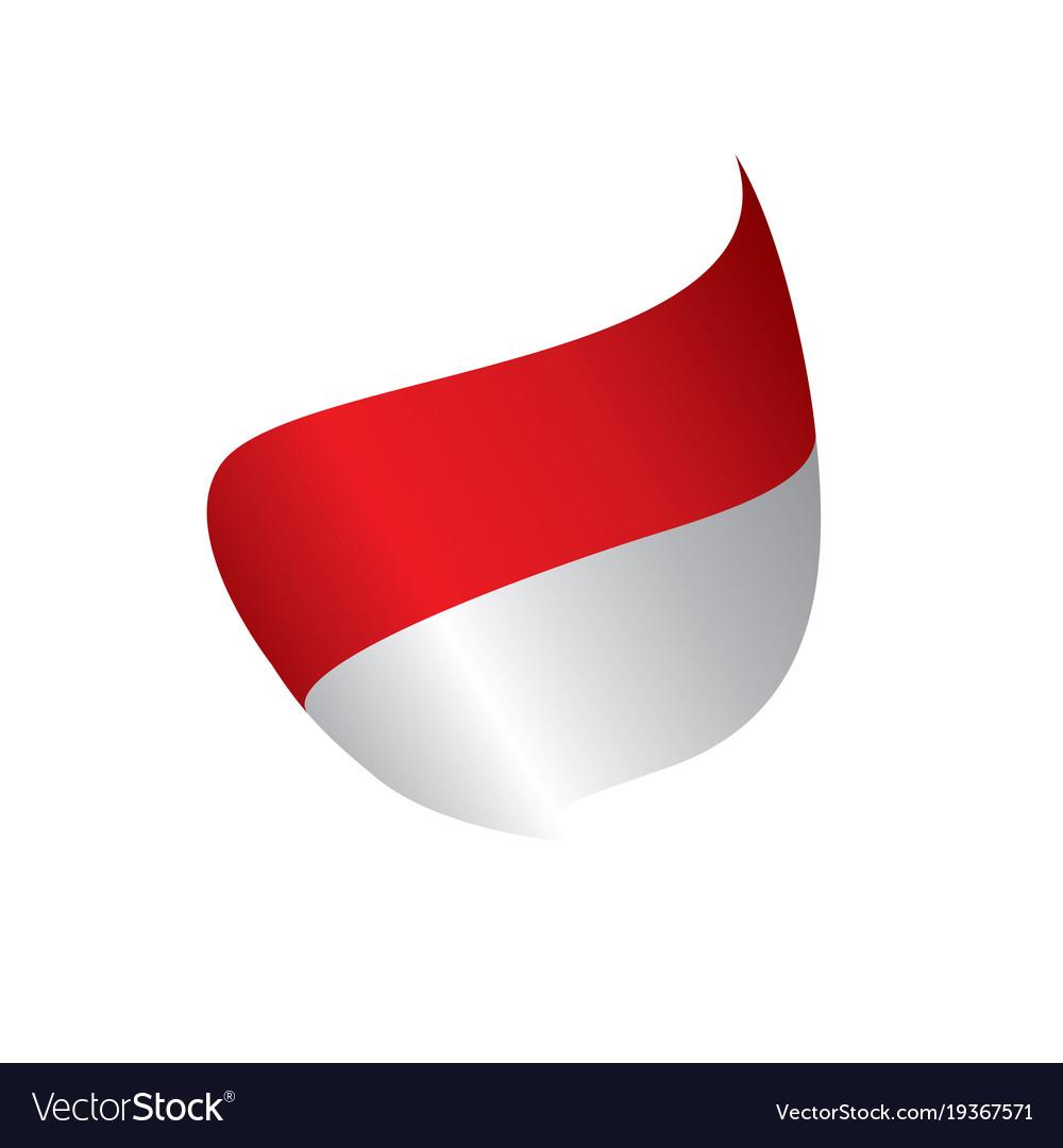 indonesia flag royalty free vector image vectorstock rh vectorstock com flag vector graphics flag vector graphics