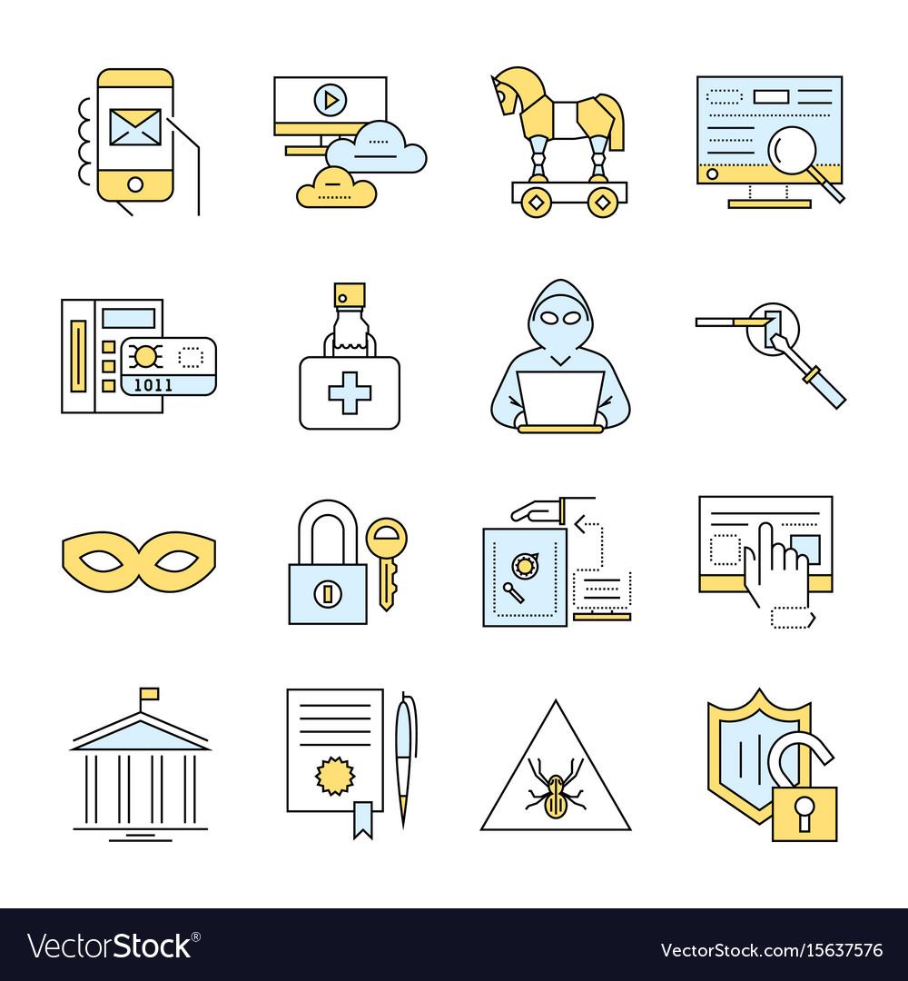 Digital blue internet security