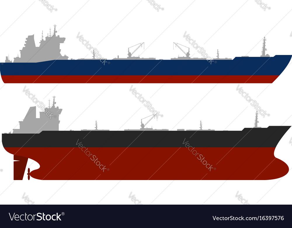 Oil tankerss set