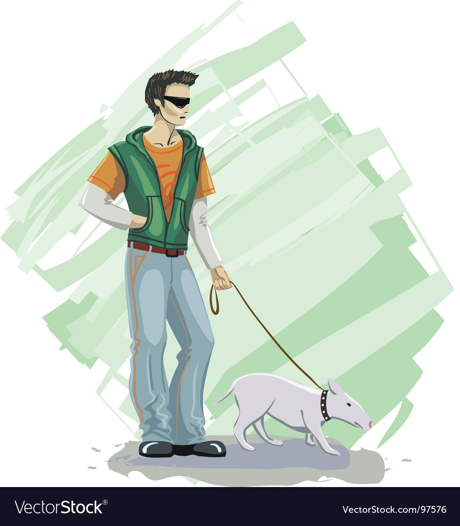 Pet dog vector