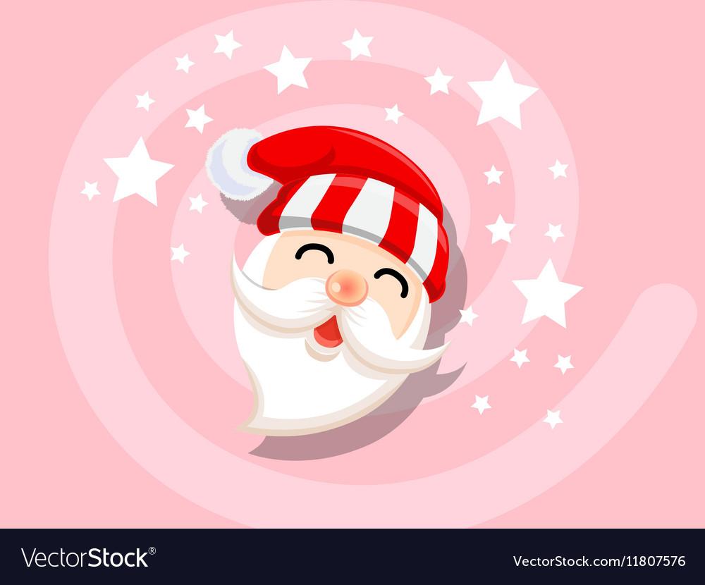 Santa icon christmas