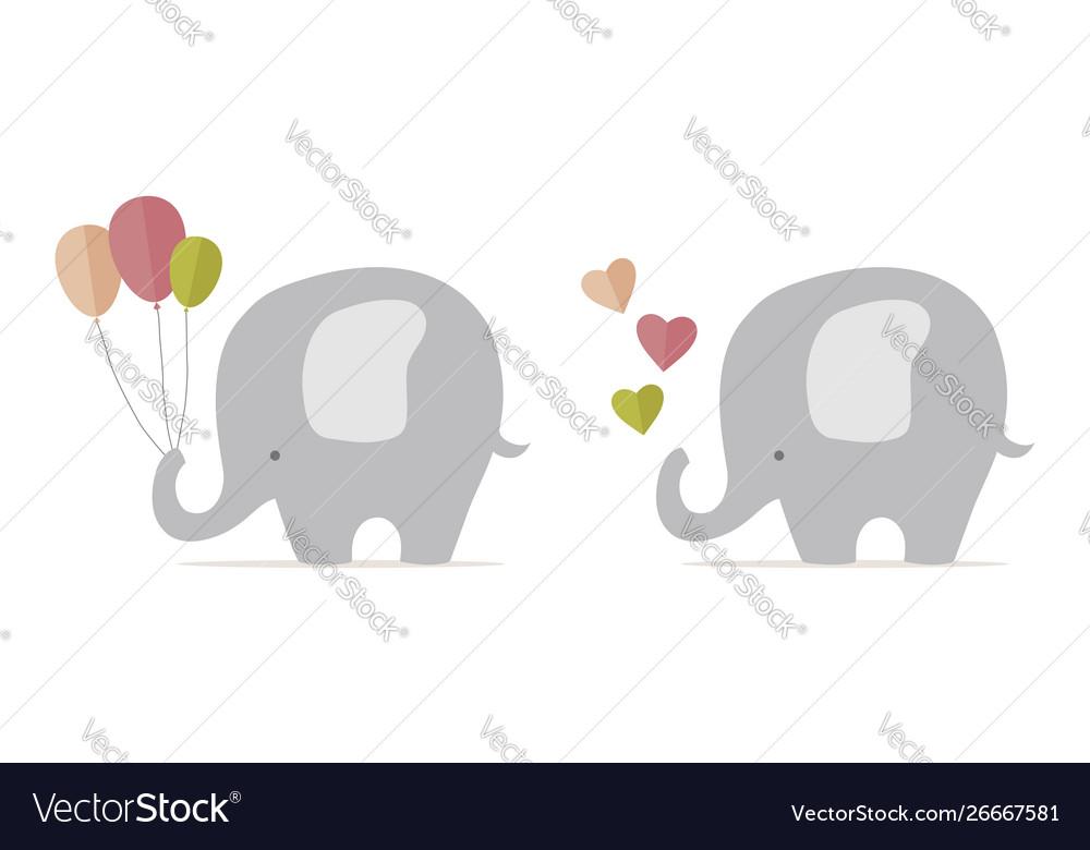 Cute baelephant