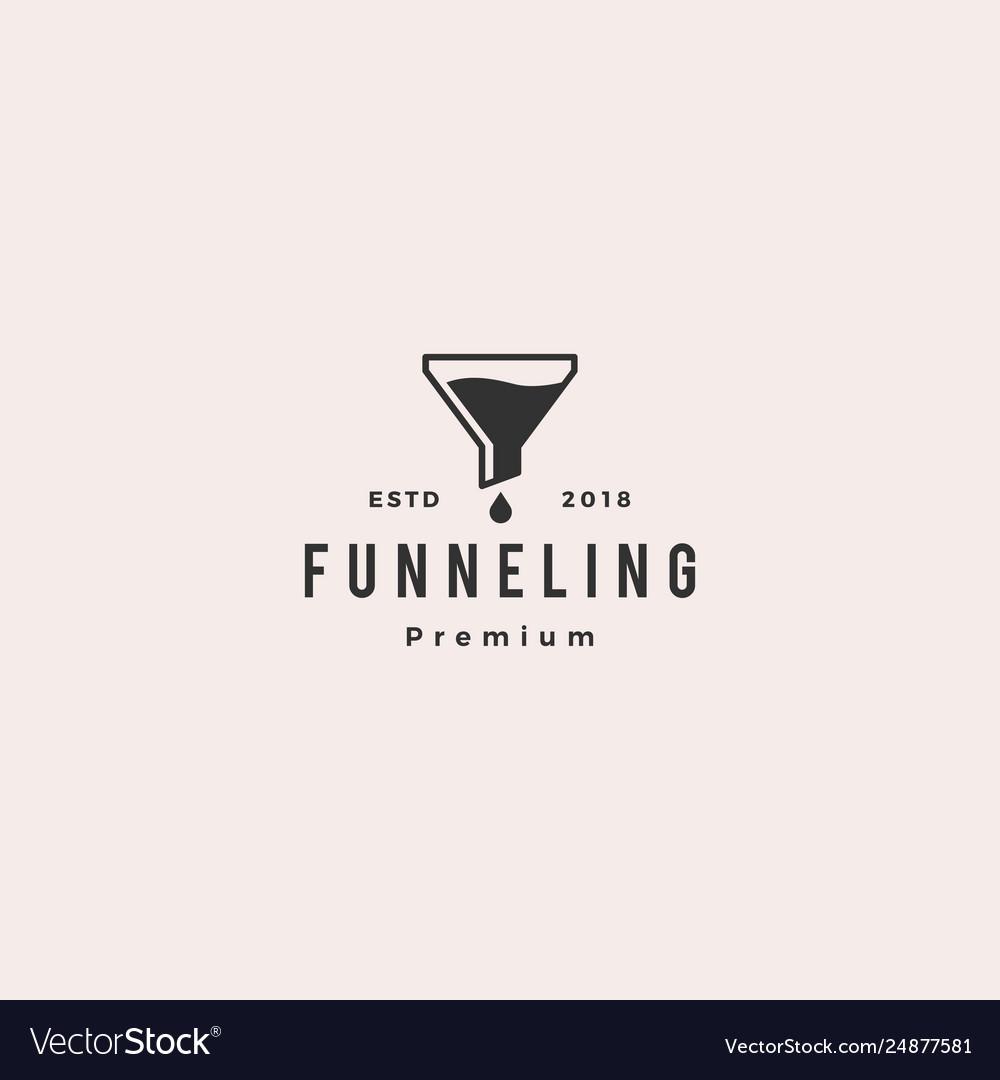Funneling logo icon