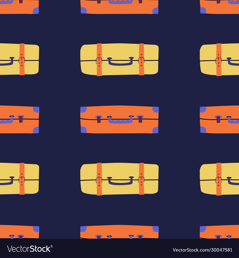 Seamless pattern background with colorful