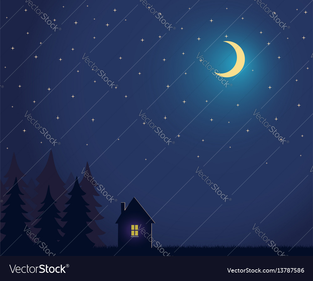 To acquire Moon sky Night stars pictures trends