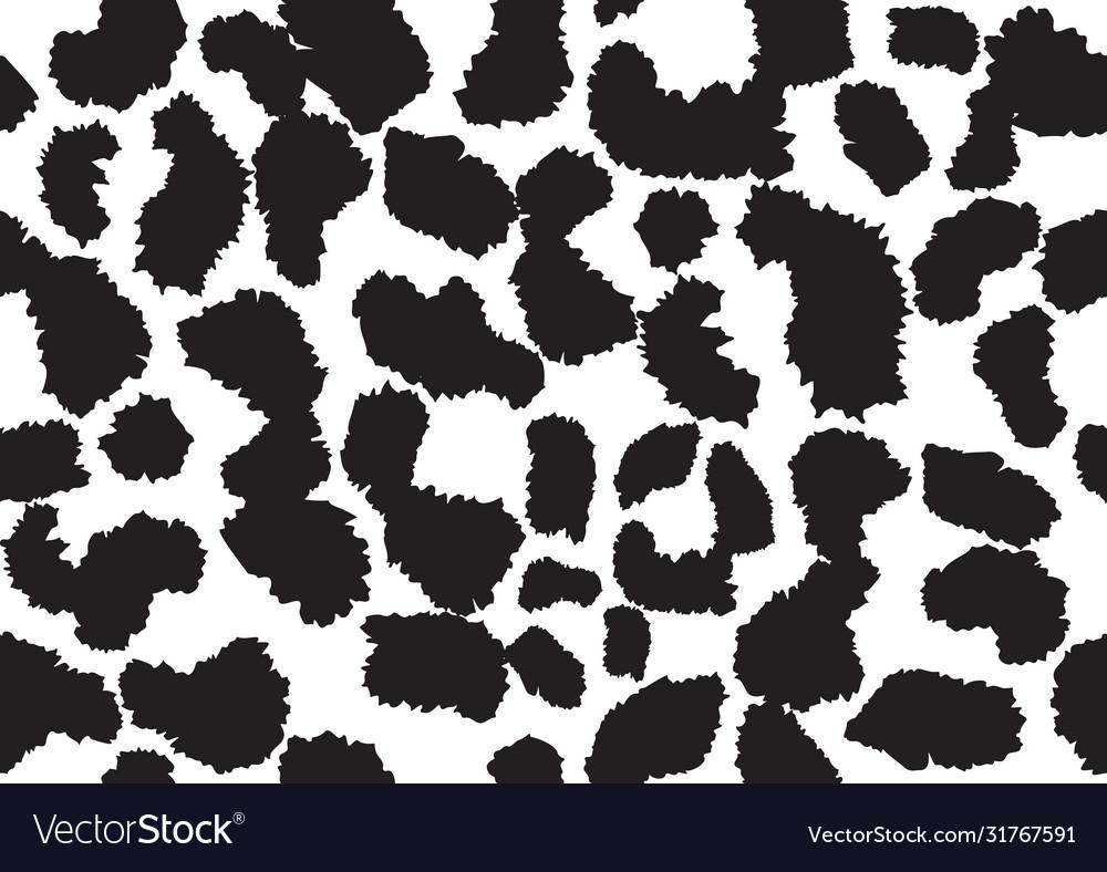Abstract animal skin leopard seamless pattern