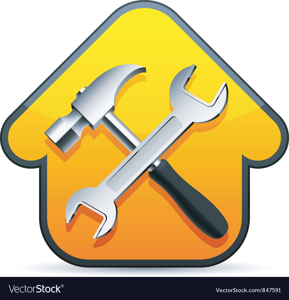 Construction sign vector image