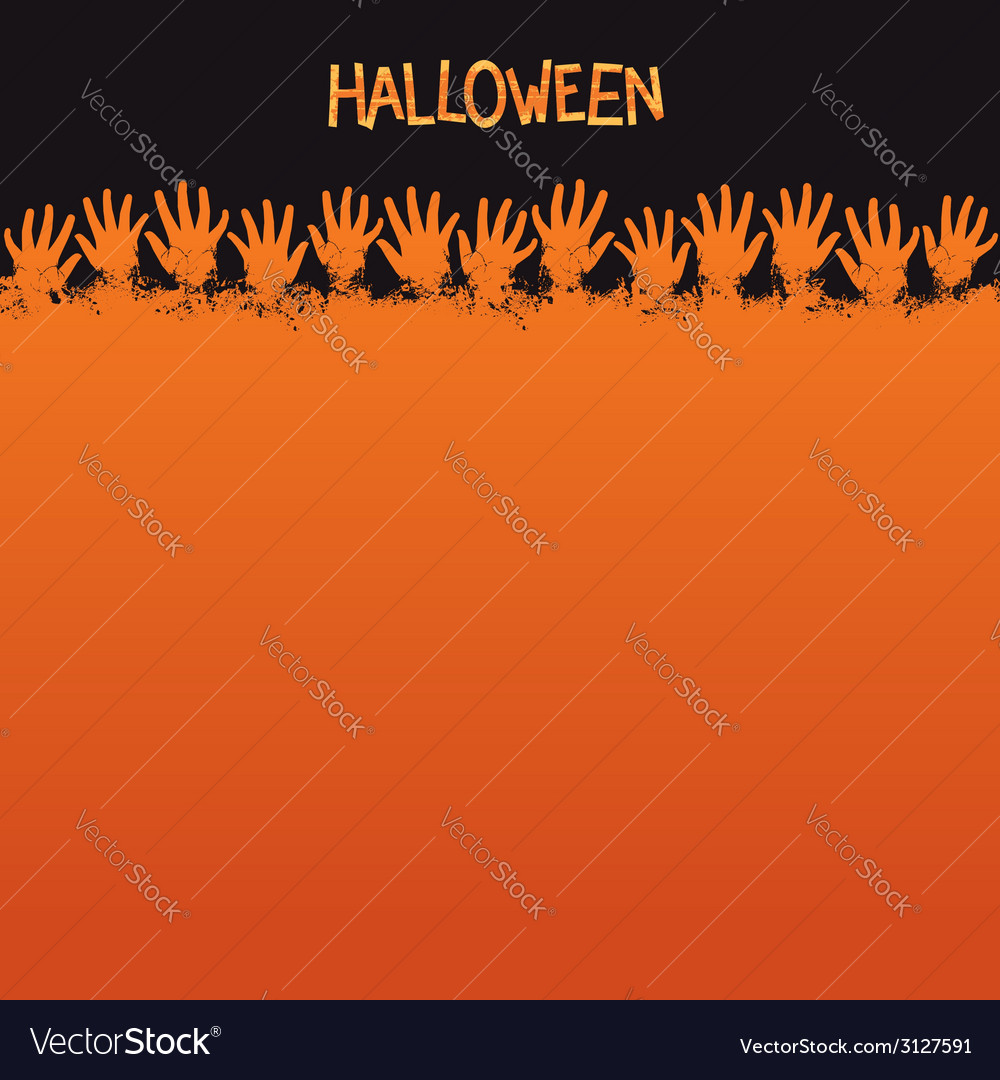 halloween card template royalty free vector image