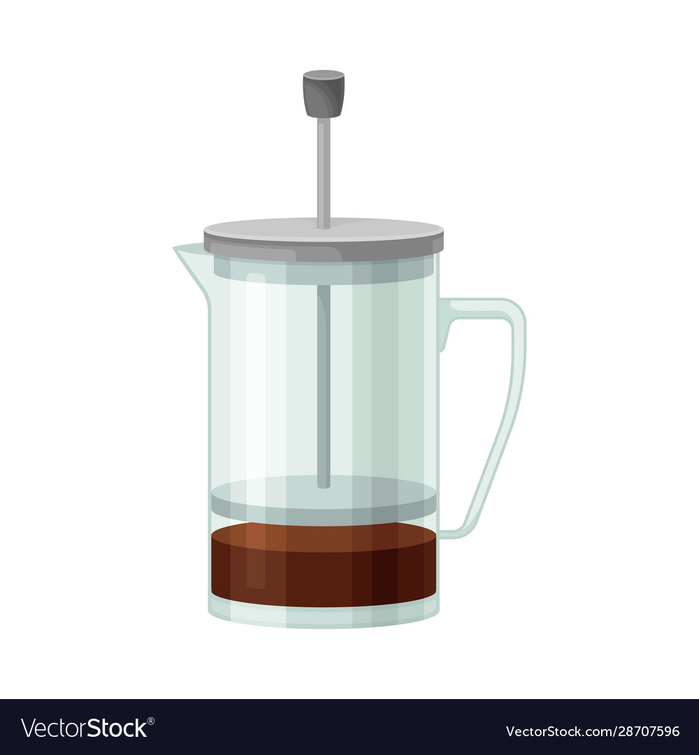French press for making tea or coffee