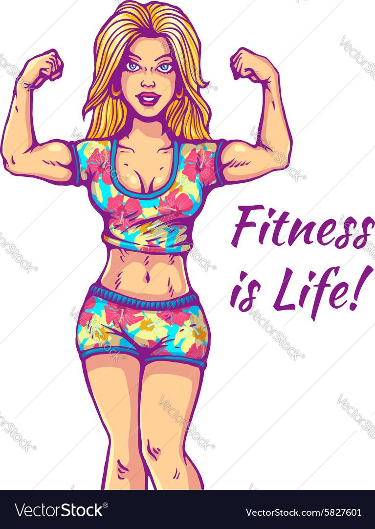 Girl fitness life