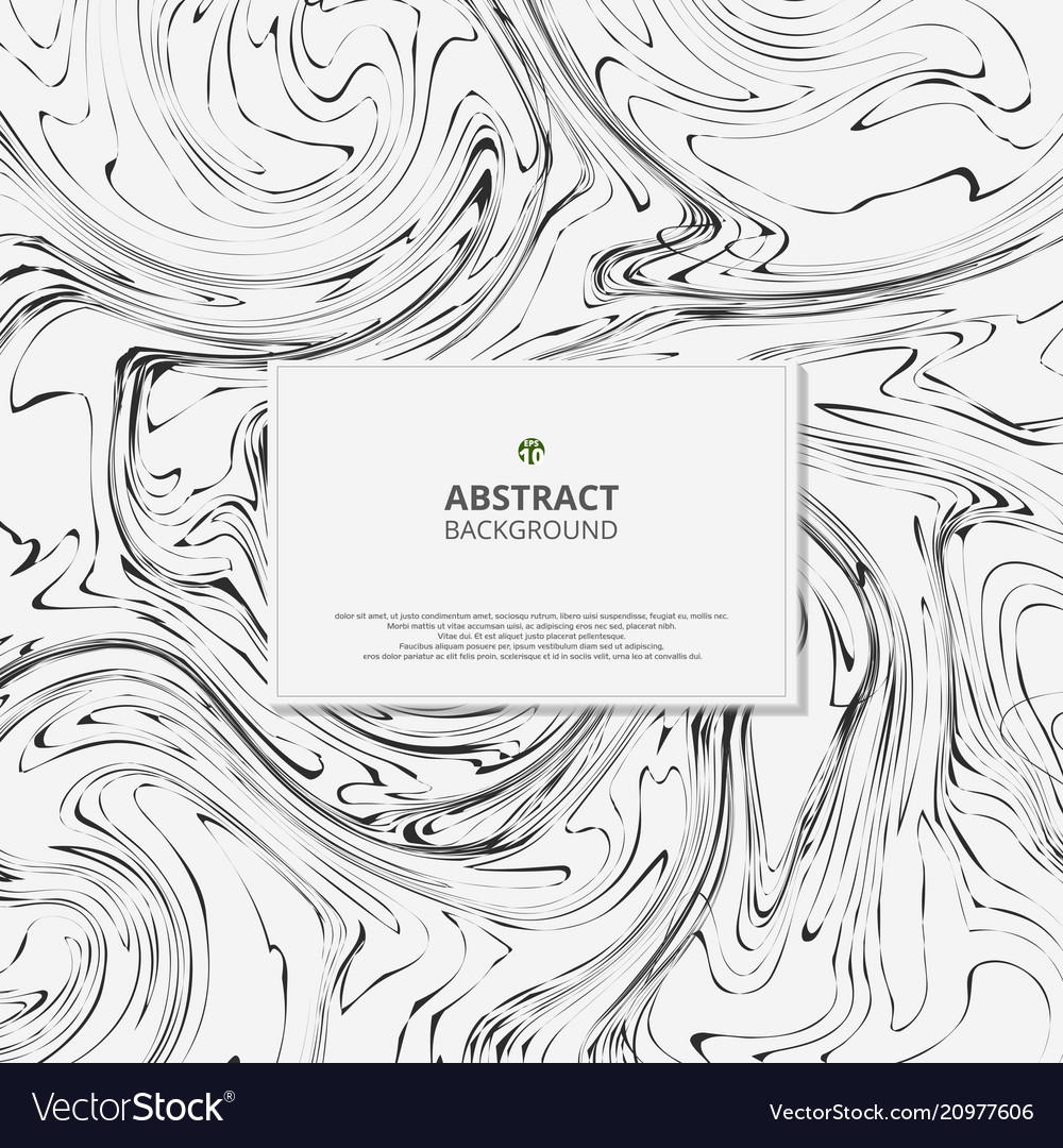 Abstract of marble black and white background
