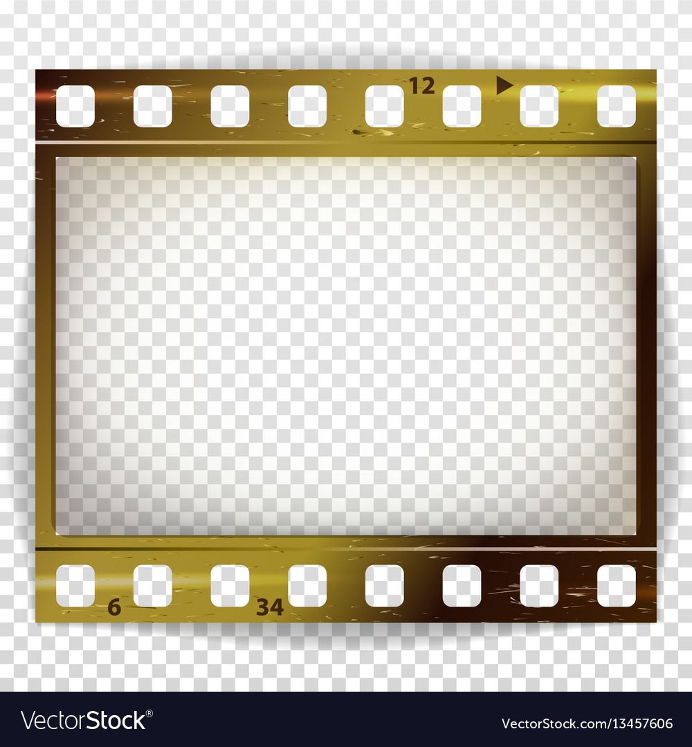 Film strip cinema of photo frame strip Royalty Free Vector