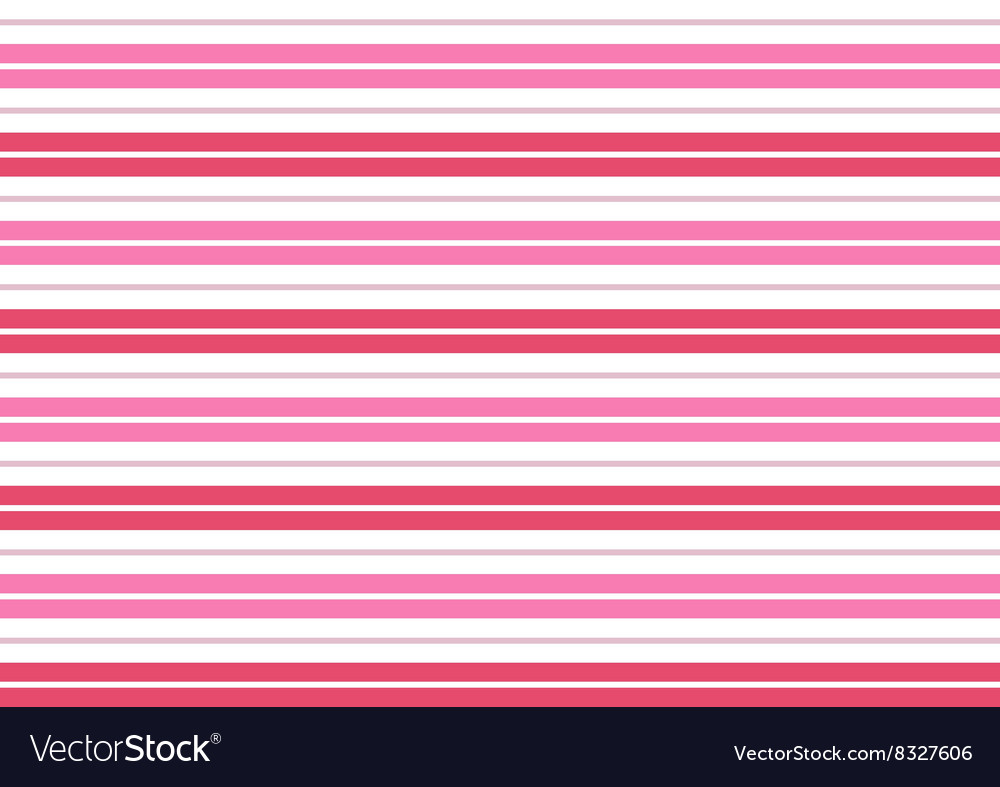 Pink White Stripes Background Royalty Free Vector Image