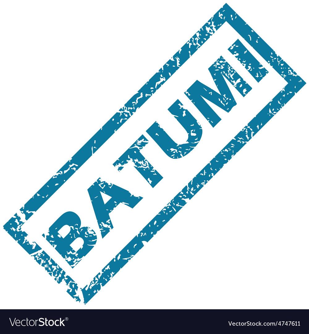 Batumi rubber stamp vector image on VectorStock