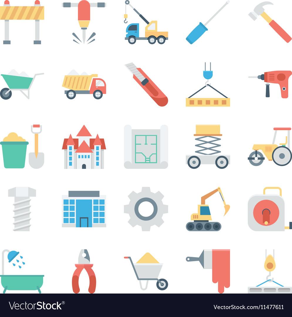 Construction Icon 4 vector image