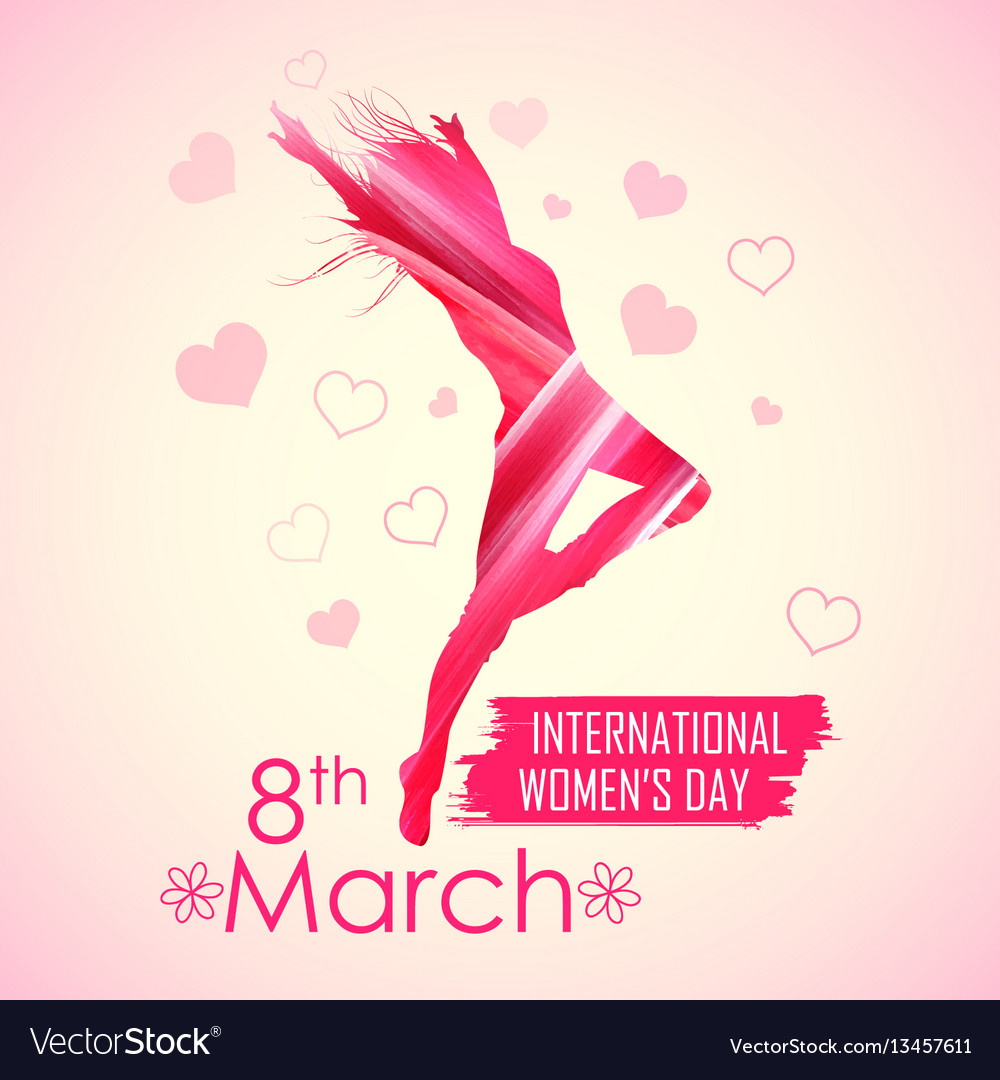 Happy women s day greetings background