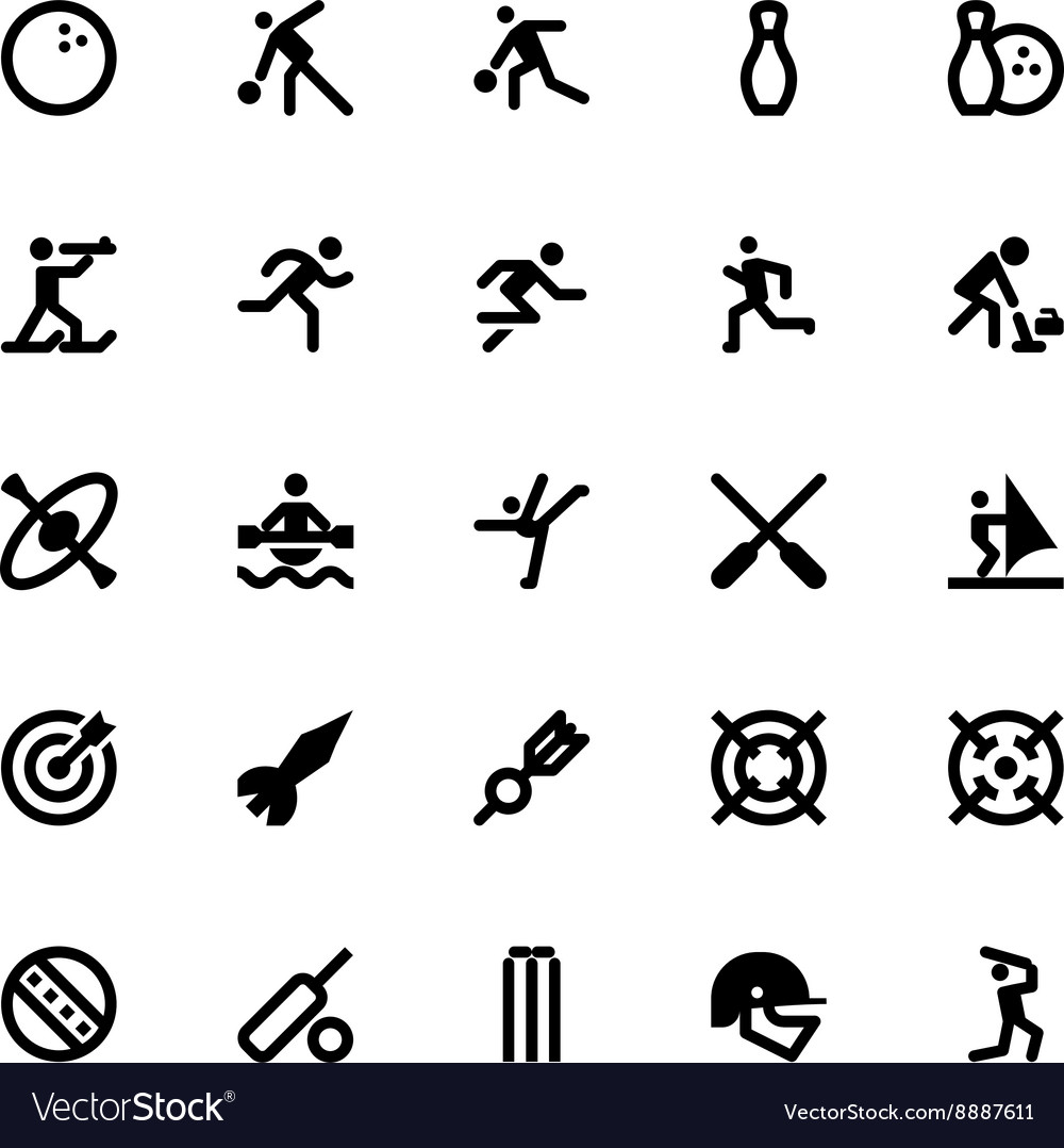 Sports and Games Icons 8