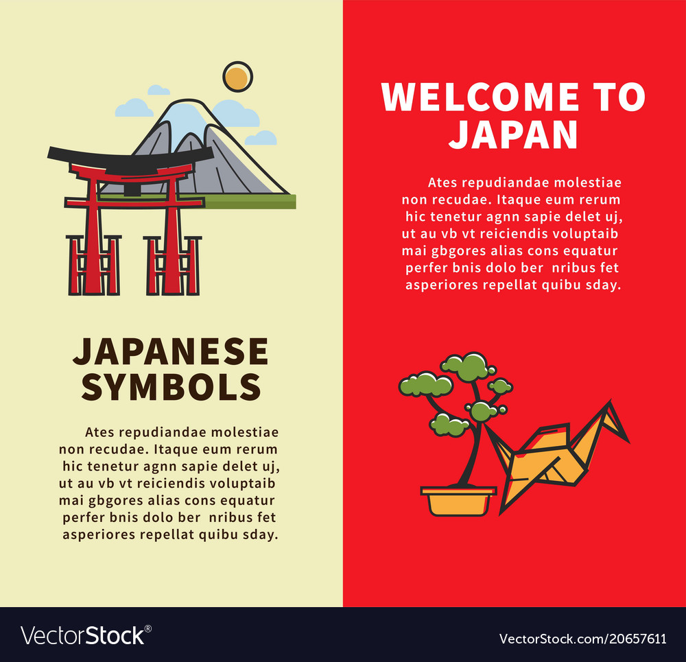 Welcome to japan vertical travel agency brochures