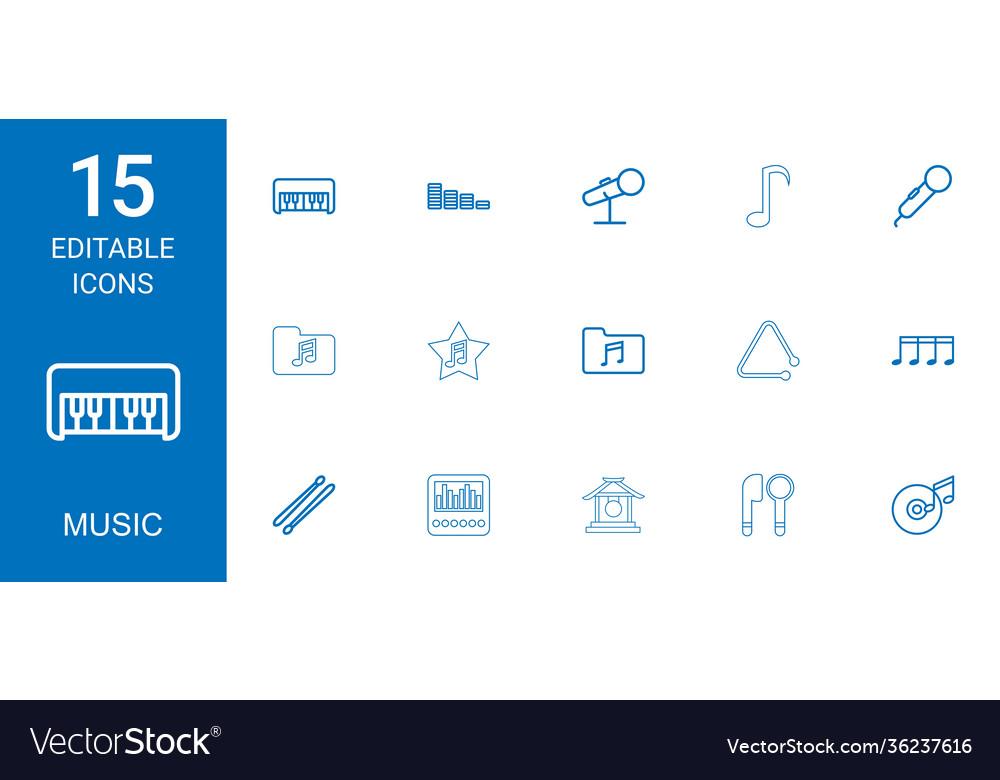 15 music icons