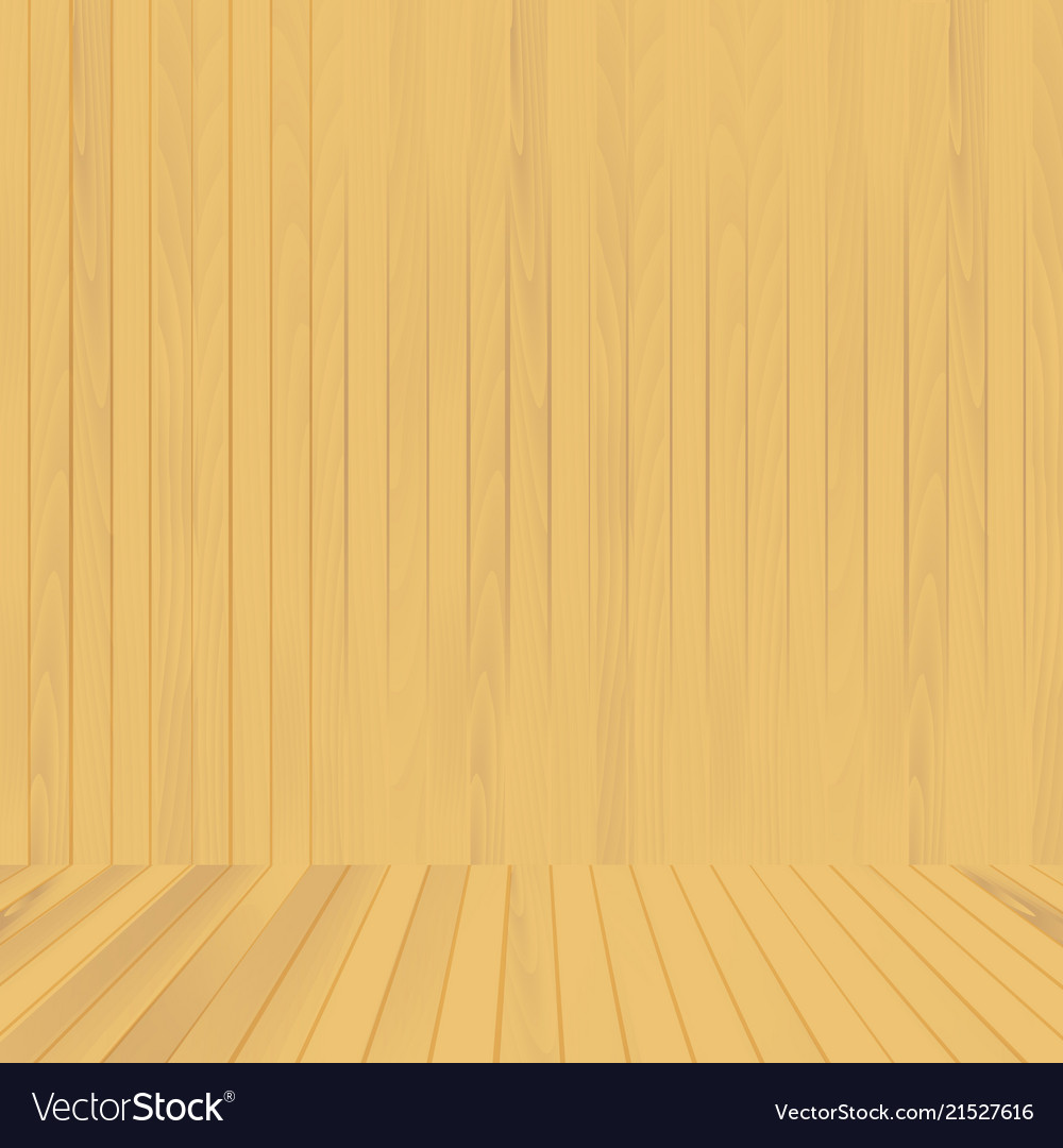 wood floor and wall background. Brown Wood Floor And Wall Background Vector Image D