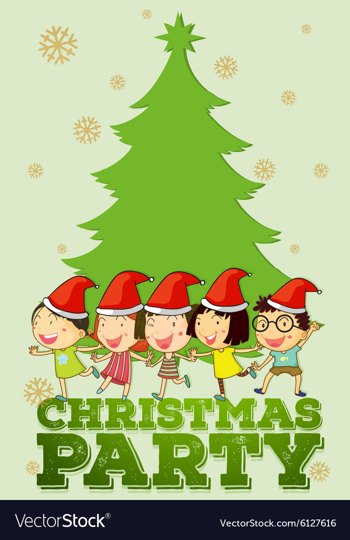 children singing christmas songs vector image - Children Christmas Songs
