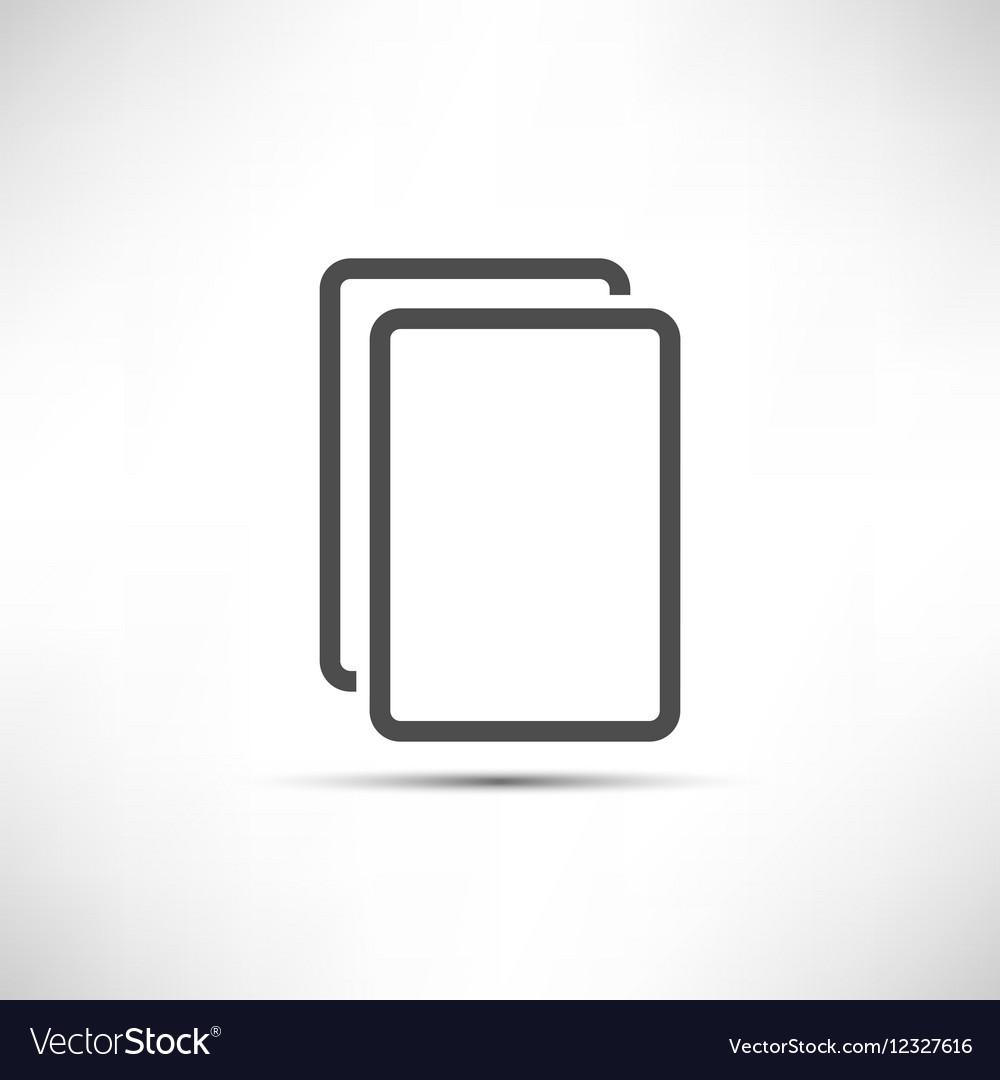 Empty Copy Icon