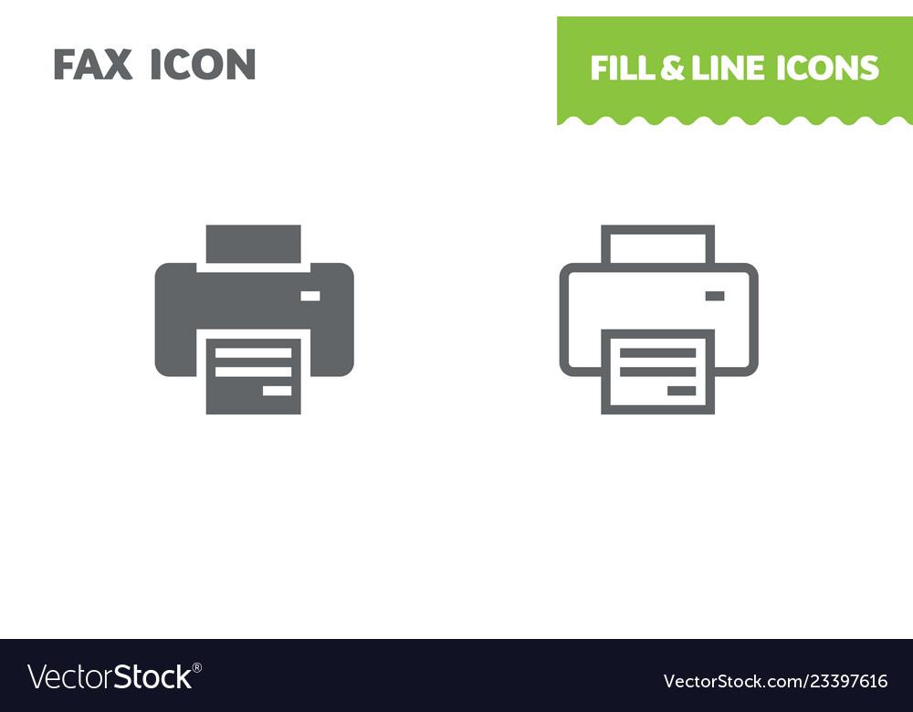 Printing profile icon