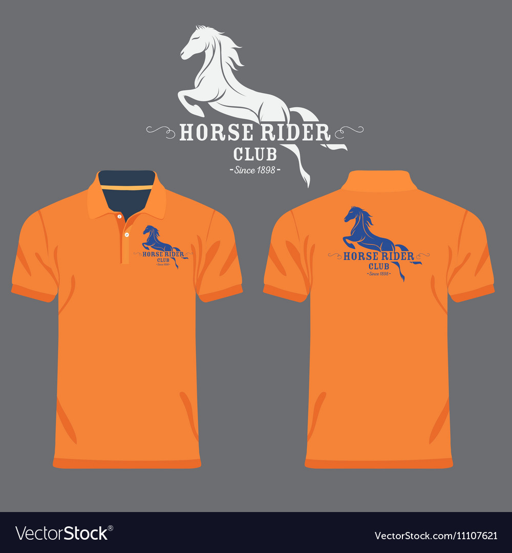 Collar Shirt Design Template Vector