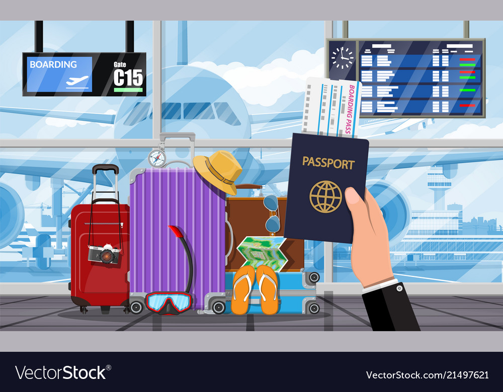 International airport concept