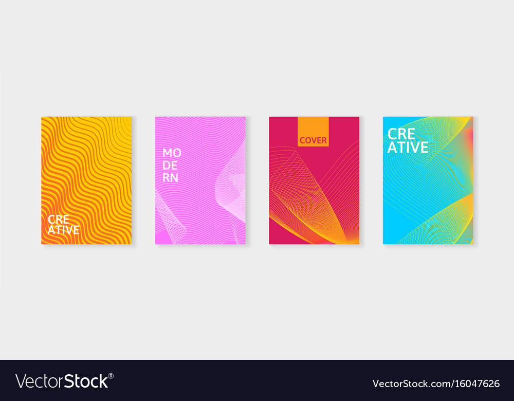 Minimal covers design set simple shapes with