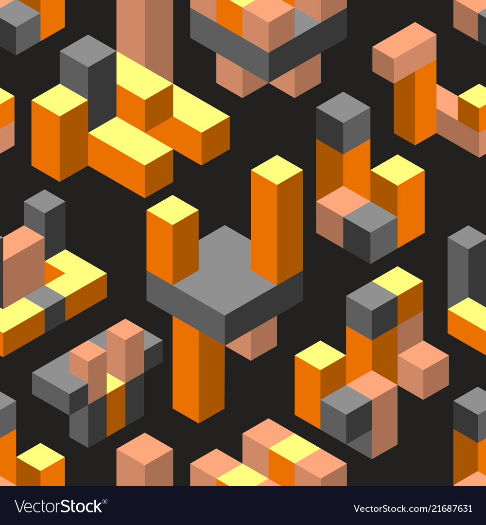 Abstract isometric geometric