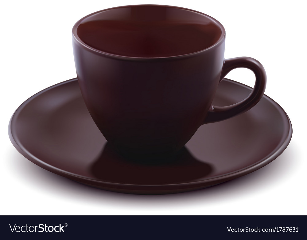 Cup of coffee isolated vector image