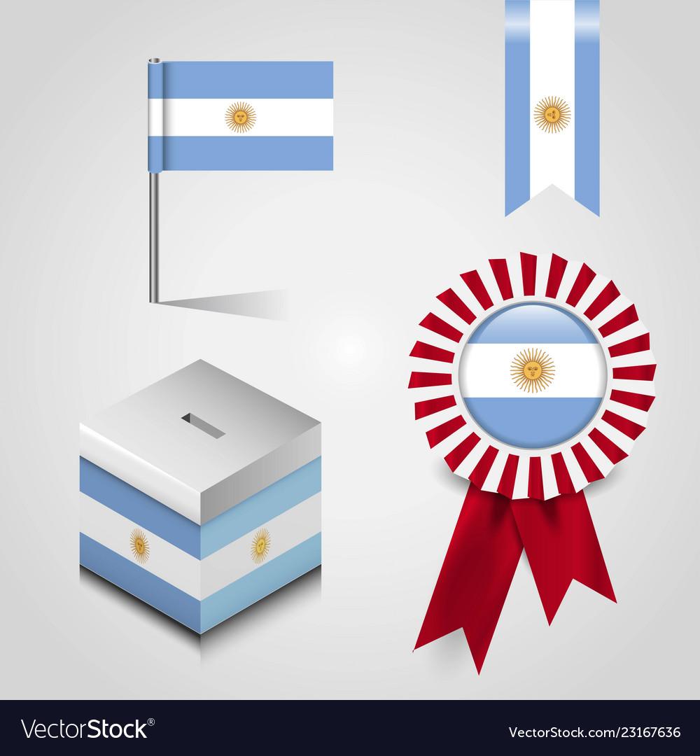 Argentina flag design