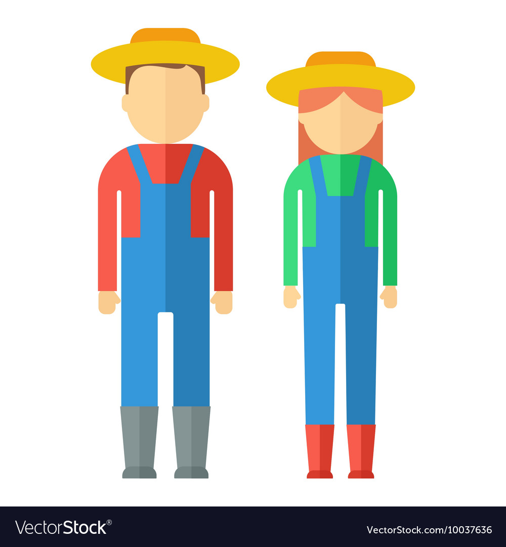 Farmers color icon
